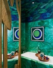 Rouge Absolu - Célia Lobo - Interior - Design - Interior Design - Decor - Home - Decoração - Palms - Wallpaper - Papel de parede - Papier-peint - Pop - Colors - Design - Cores - Print Design - Textile Design - Têxtil Design - Estampados - Pattern - Imprimés