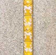 Azulejos - White - Yellow - Porto