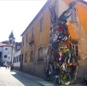 Rabbit - Bordalo II - Porto - Trash - Art - Street Art