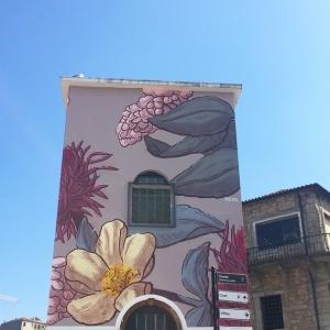 Street Art - Pastel - Porto - Flowers - Art