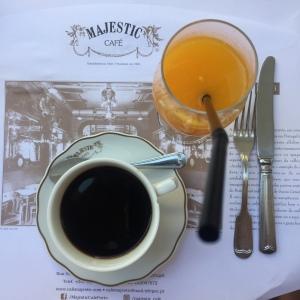 Breakfast - Café Majestic - Porto - Coffee - Orange