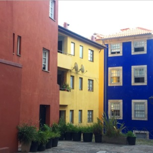 Colorful - Houses - Blue - Yellow - Red - Porto