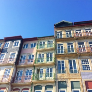Colored - Houses - Painted - Ladies - Porto