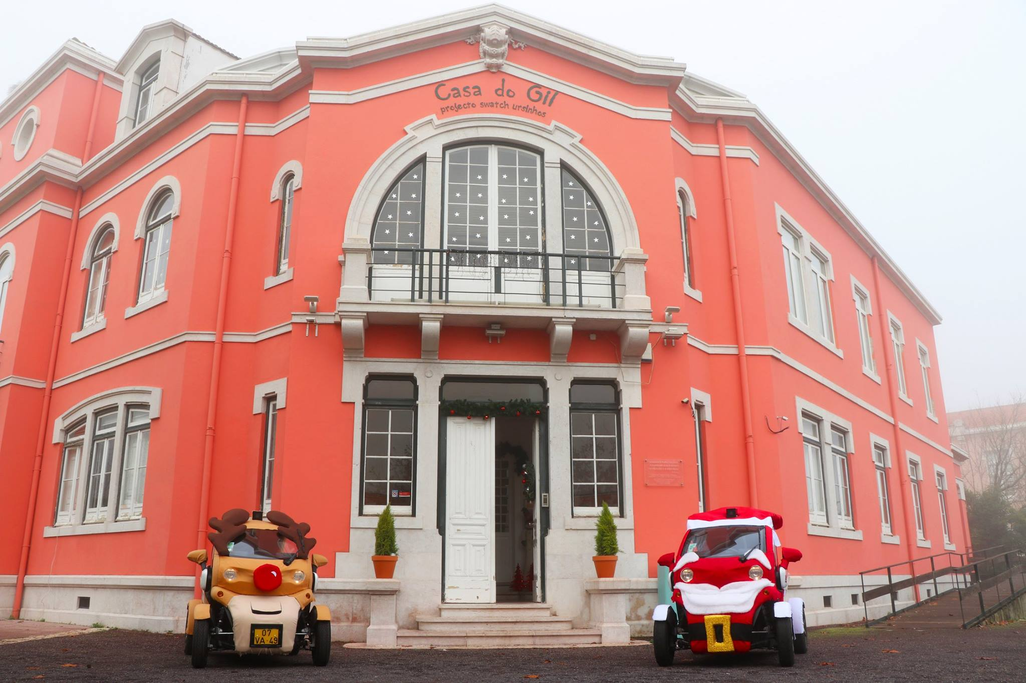 Live Electric Tours - Célia Lobo - Cars - Twizy - Christmas - Santa Claus - Santa - Reindeer - Deer - Lisboa - Lisbon