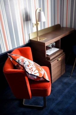 Rouge Absolu - Célia Lobo - Cheval Blanc - Hotel - Interior - Design - Interior Design - Decor - Home - Decoração - Palms - Wallpaper - Papel de parede - Papier-peint - Pop - Colors - Design - Cores - Print Design - Textile Design - Têxtil Design - Estampados - Pattern - Imprimés - Rugs - Tapis - Tapetes - Cushions - Coussins - Almofadas - Luxe