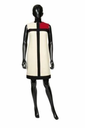 "Robe dite ""Hommage à Mondrian"" - Yves Saint Laurent - AH 1965"