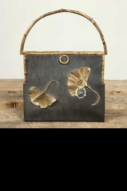 Sac en cuir et bronze - Claude Lalanne Edition Artcurial