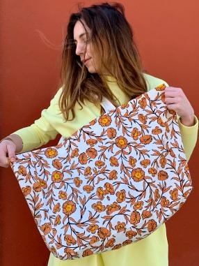 Célia Lobo - Bag FLOR Sienna - 100% Cotton