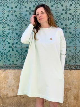 Célia Lobo - Dress BOLOTA Mint - 100% Organic Cotton