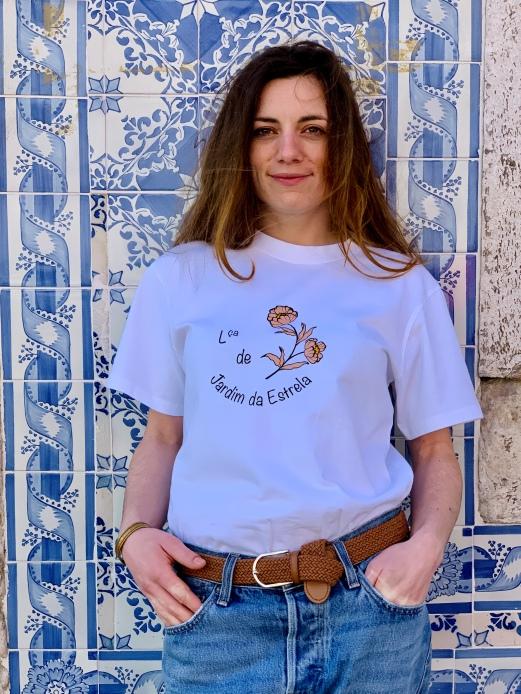 Célia Lobo - T-Shirt JARDIM DA ESTRELA - 100% Organic Cotton