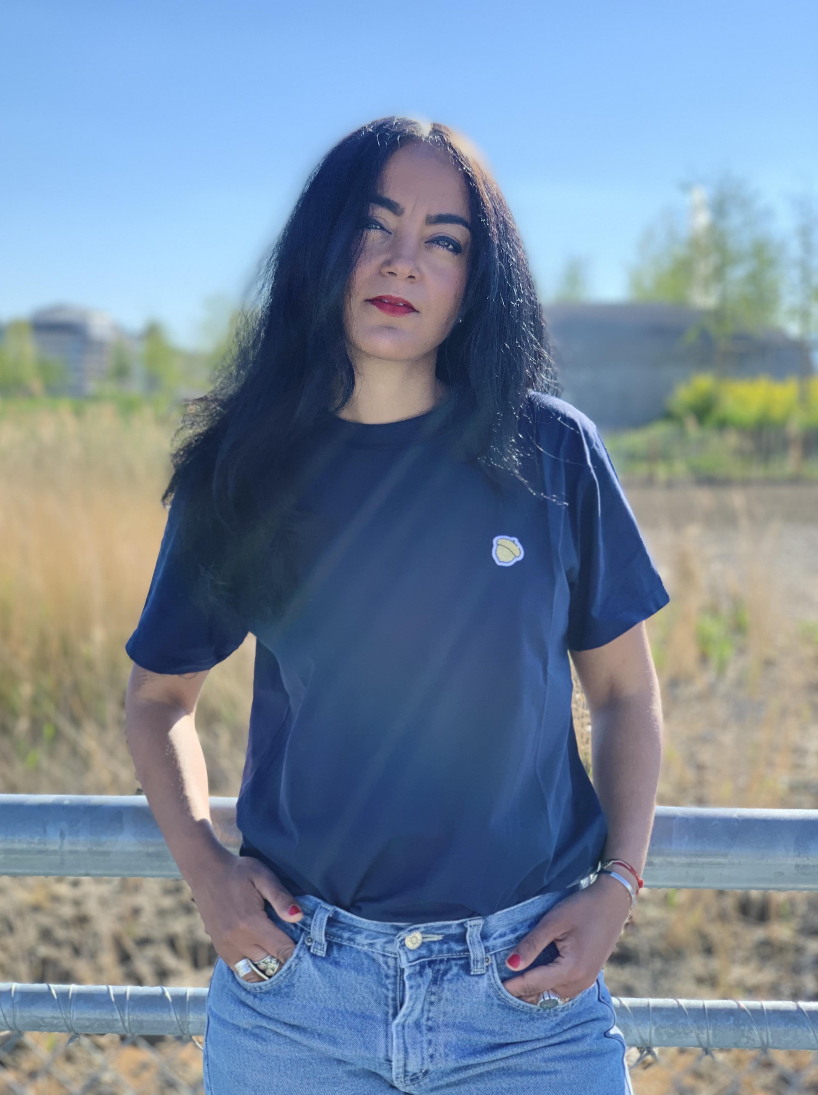 T-Shirt BOLOTA - Navy - 100% Organic Cotton